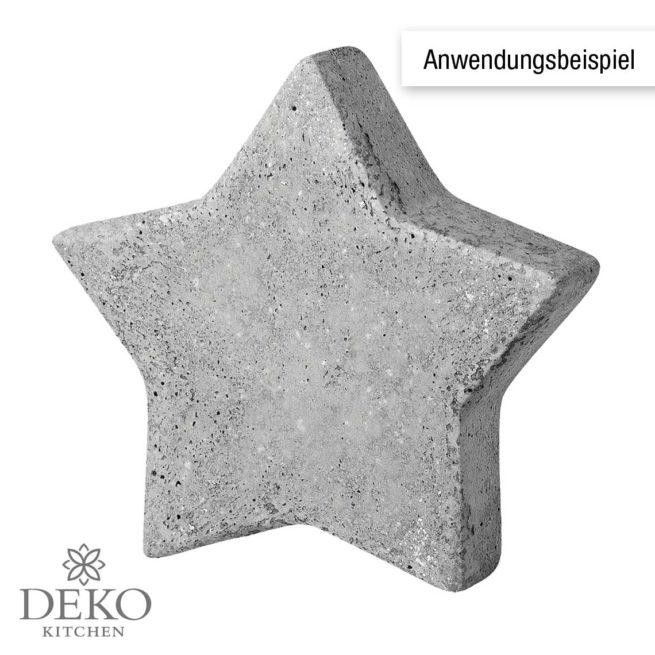 Gießform Stern 7 cm
