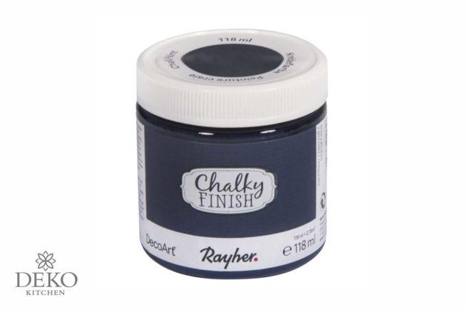 Kreidefarbe Chalky finish nachtblau 118 ml