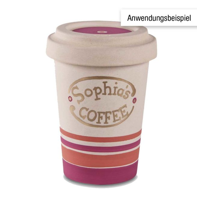 "Kaffeebecher ""Bambus to go"" 500 ml"