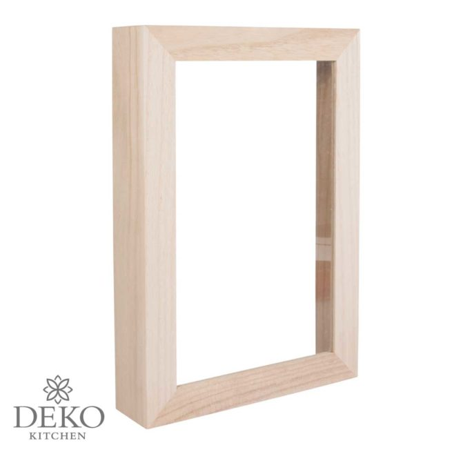 Holzrahmen mit Acrylglas 30 x 21 cm