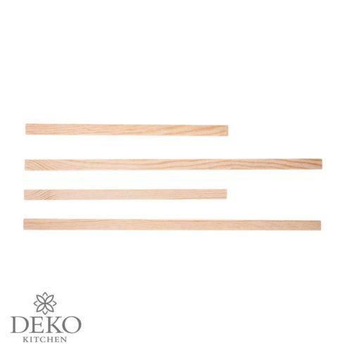 Holzstäbe-Set zum Montieren von Effektfolie