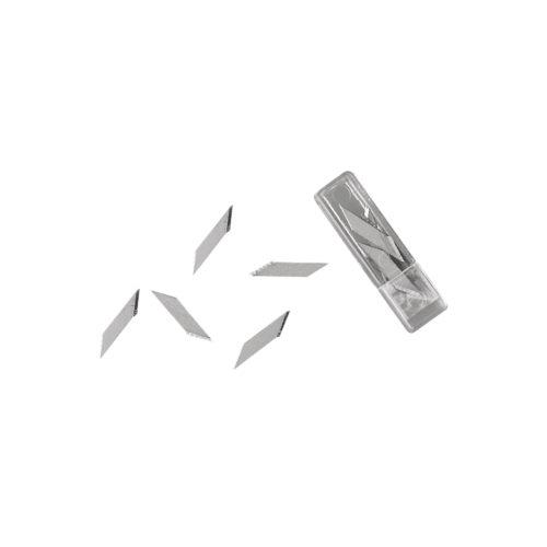Ersatzklingen für Präzisions-Basteömesser, Box mit 6 Stk.